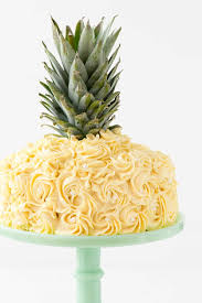 Pineapple Cake Cake Decorating Tutorial} Crazy for Crust