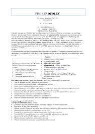 Auto Electrician Resume Job Sample