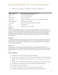 Resume For Software Testing Lovely Samples 2 Years Experience Headline