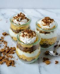 Pumpkin Pie Mousse Parfait by Parfaits With Coconut Whipped Cream