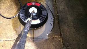 Deck Scrub Brush Home Depot by Rotating Power Washer Attachment Youtube