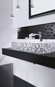 schwarz weiß fürs bad schöner wohnen