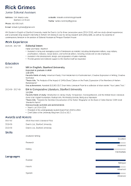 Entry-Level Resume: Sample And Complete Guide [+20 Examples] How To Write A Cover Letter Get The Job 5 Reallife Help Me Land My First Job Out Of School Resume Critique First Cook Samples Velvet Jobs 10 For Out Of College Cover Letter Examples Good Sample Rumes For Original Best Format Example 1112 On Campus Resume Lasweetvidacom Updating After Update Hair Stylist Livecareer