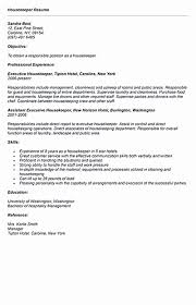 Hospital Housekeeping Resume Samples Contemporary Sample Job S