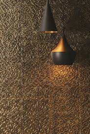 Metallic Tile Effect Wallpaper by Tutankhamun Decorative Glass Tile