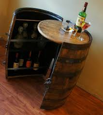 Globe Liquor Cabinet Antique by Cooperage Cabinets Custom Wine And Liquor Barrel Cabinets