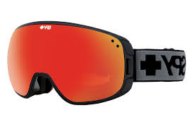 Prescription Halloween Contacts Astigmatism by Spy Bravo Black Goggles Bronze W Red Spectra Blue Contact