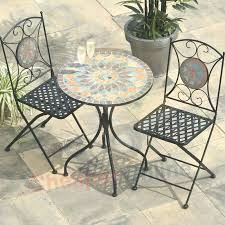 Patio Cafe Table And Chairs Unique Bistro Set New Metal Furniture Mosaic Google Small Ikea M