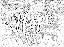 Coloring Pages Adults Hope From The Gallery 2016 Christmas Advent Calendard