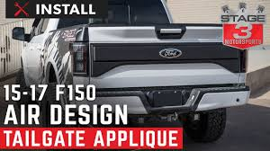 2015-2017 F150 Air Design Raptor Style Tailgate Applique Install ... Looking For A 5th Wheel Tailgate Camera Ford Truck Enthusiasts Replacing A On F150 16 Steps Beer Pong Table Dudeiwantthatcom Fseries Truck F250 F350 Backup Camera With Night Vision Decklid For 2006 Superduty Bed Liner The Official Site Accsories This Can Transform Your Tailgate Experience How To Use Remote Open 2015 Youtube New Pickup Features Extendable Teens Getting 2018 Raptor Choice Of Two Different Message And Cool License Plate Flickr 2016 2017 Blackout Stripes Route Tailgate 3m