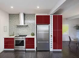 indigos ug aufkleber für küchenschränke 63x500cm glanz purpurrot folie aus hochwertigem pvc tapeten küche klebefolie möbel wasserfest für