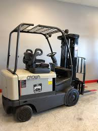100 Crown Turret Truck CES 20691 FC404050 Electric Forklift
