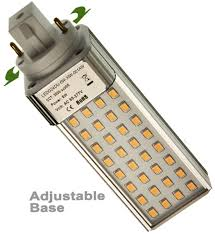 led cfl bulb replacement g24d 2 pin base only 5w replaces 13w