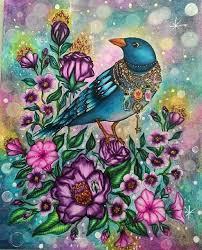 Oiseau Coloriage Zen Coloring BooksAdult ColoringColoring PagesColouringAnimal DrawingsColored