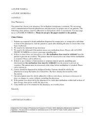 Cover Letter for Pharmacy Technician Pharmacy Technician Letter