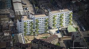 100 Lambeth Hospital London Aerial Photographs Of Great Britain By Jonathan