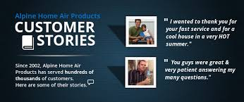 Customer Stories Alpine Home Air Products