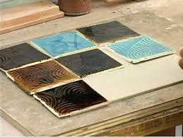 how to make an abstract ceramic trivet hgtv
