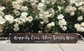 Wedding Aisle Sign Decor Rustic