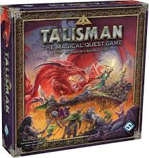 Amazon Talisman The Magical Quest Game 4th Edition Fantasy Flight Games COR Toys