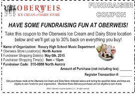 Rosary High School Fine Arts Oberweis Fundraiser May 6