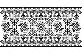 Vector Old Antique Turkish Carpets Stock