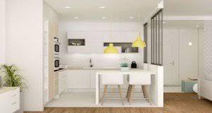 decoration cuisine déco cuisine idée peinture carrelage couleur et meuble