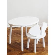 Mouse White Oak Children's Play Table – Maude Kids Decor