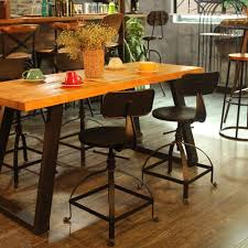 Industrial Style Metal Bar Stool Ajustable Height Swivel Kitchen ... Beecroft 305 Swivel Bar Stool Reviews Joss Main Cramco Inc Trading Company Nadia Five Piece Pub Table And Ikayaa Pinewood Top Round Height Adjustable Dinette Sets Contemporary Dinettes Tables Chairs Ding Room Total Fniture Kenosha Wi Greyleigh Joanne 29 Wayfair Find More Style And 2 For Sale At Up To 90 Off Stool Wikipedia Outdoor Wooden Tall Set Arihome Retro Chrome In Back With Lisa Fnitures 2545 Rocking Free Shipping How Build A Counter Curved Seat 10