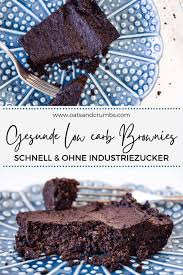 schnelle low carb brownies