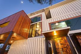 104 Building House Out Of Shipping Containers Artsy 3 Storey Home Built From 31
