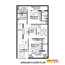 House Plan For 31 Feet By 31 Feet Plot Plot Size 107 Square Yards