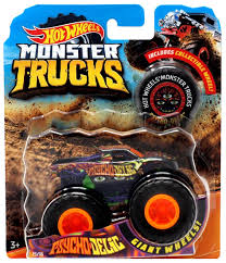 Hot Wheels Monster Trucks Psychodelic 164 Die-Cast Car Mattel Toys ... Hot Wheelsreg Monster Jamreg Mighty Minis Pack Assorted Target Wheels Jam Maximum Destruction Battle Trackset Shop Brick Wall Breakdown Fireflybuyscom Amazoncom 124 New Deco 1 Toys Games 164 Scale Vehicle Big W Higher Ecucation Walmartcom Grave Digger Buy Jurassic Attack Diecast Truck 2014 Rap Twin Toy Dragon 14 Edge Glow 2017 Case D Grana Team Lebdcom