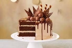 choc hazelnut drip cake 2