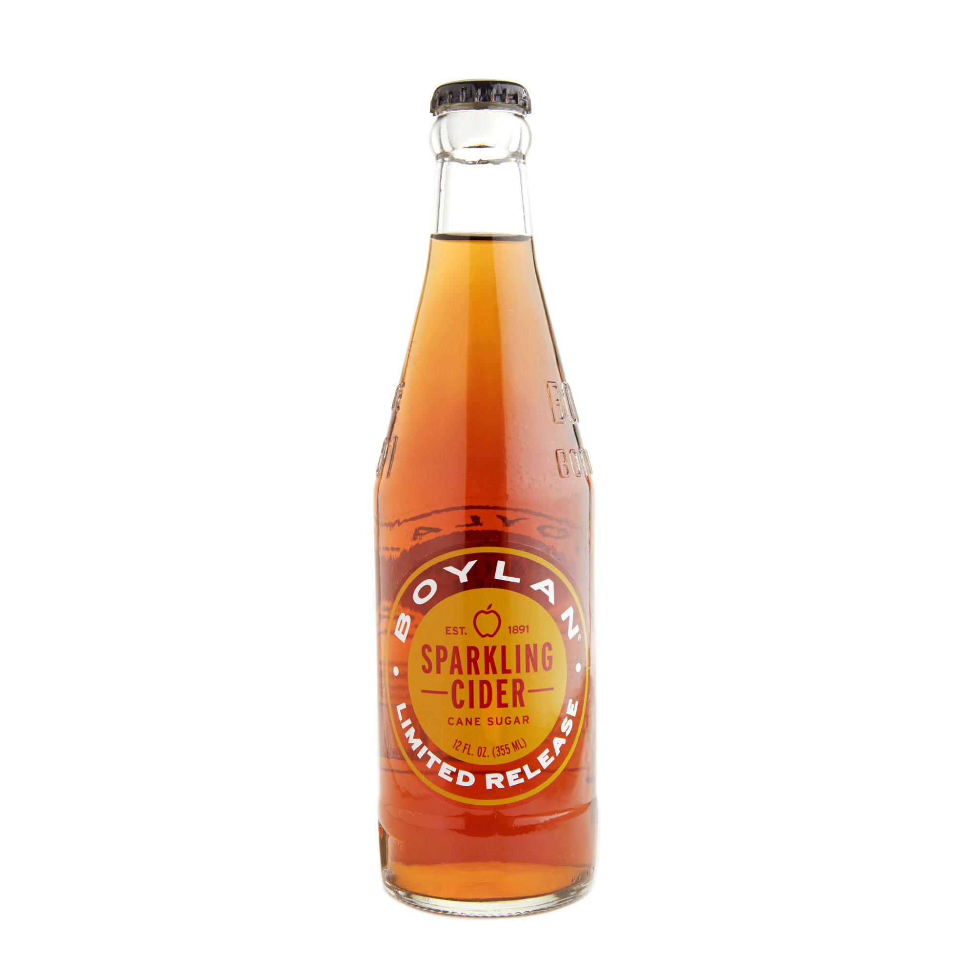 Boylan Limited Release Sparkling Cider - 12 fl oz bottle