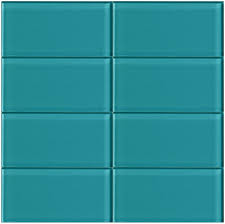 2x8 Glass Subway Tile by Lush Peacock 3x6 Glass Subway Tile Lush 3x6 Subway Tile