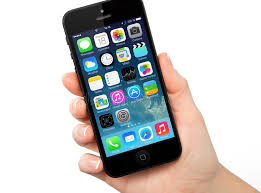 New Operating System IOS 7 Screen IPhone 5 Apple Editorial