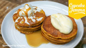 Easy Vegan Pumpkin Pancake Recipe by Pumpkin Pancake Recipe Cupcake Jemma Youtube