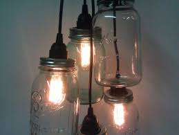 Astonishing Diy Projects With Wine Bottles Jar Cluster Pendant