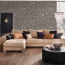 a s création papiertapete il decoro tapete in naturstein optik beige grau schwarz