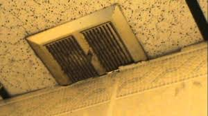 Nutone Bathroom Exhaust Fan by Messed Up Nutone Bathroom Exhaust Fan At Weak Power Youtube