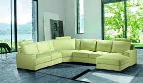 Latest Green Leather Sectional Sofa Modern 11 Inspiring