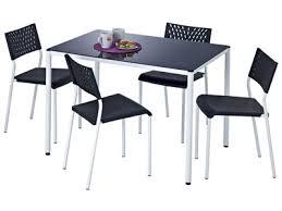table de cuisine 4 chaises pas cher table cuisine avec chaise barunsonenter com