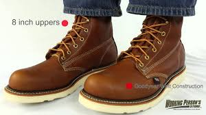 thorogood boots men u0027s 814 4364 american heritage work boots youtube