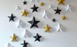 Stars For Walls Decorating Throw An Oscars Party Oscar 3d Star And Origami Best Concept