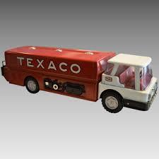 100 Texaco Toy Truck Vintage AMF WENMAC Jet Fuel Gas Tanker SitOn