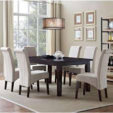 Queen Anne Dining Room Set Beige Sets Kitchen Furniture The In Concert