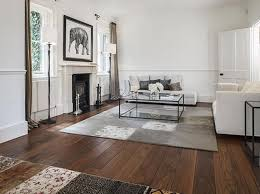 Walnut Floor Warm And Solid Underfoot For Traditional Interior