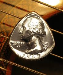 Coin Guitar Picks 1