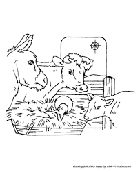 Christmas Story Coloring Pages 10